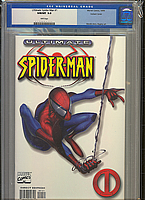 Ultimate Spider-Man #1 White Variant CGC 9.8